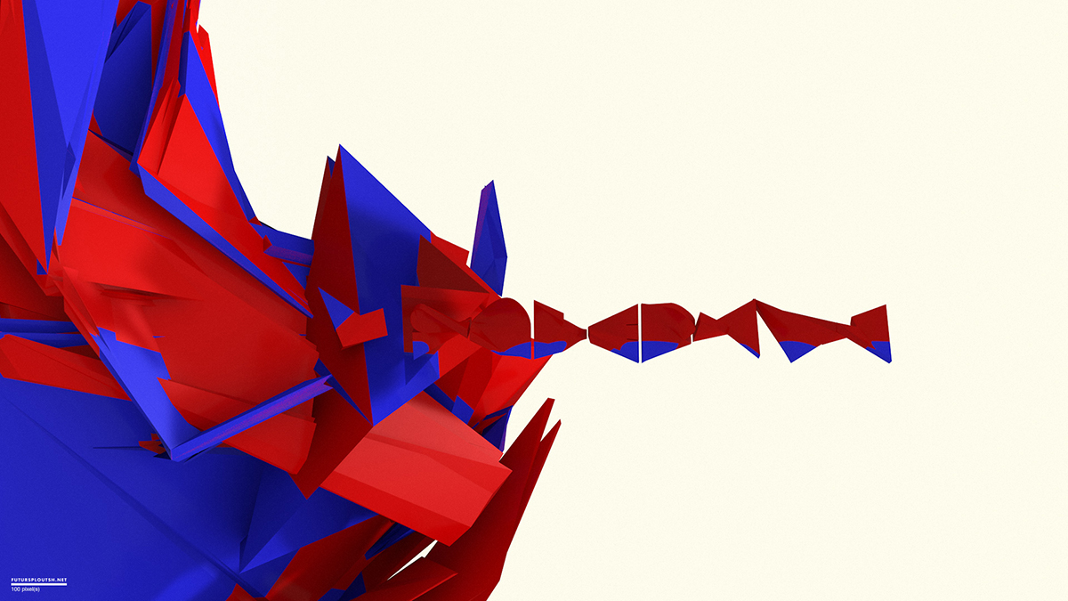 Abstract Spiderman
