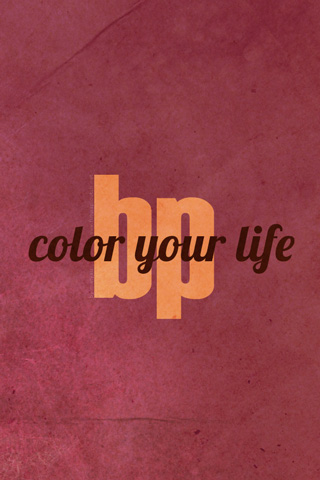 BP - Color Your Life #03, version iPhone