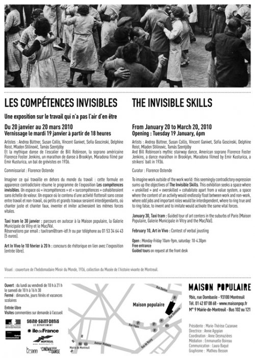 "Invitation for ""The Invisible Skills"", preview. (web version)"