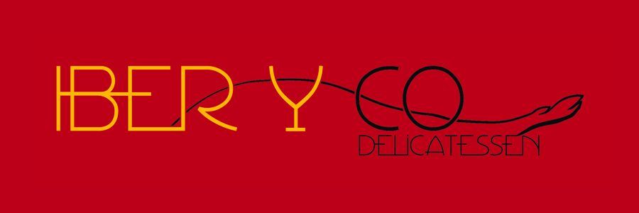 "Logo ""IBER Y CO Delicatessen"""